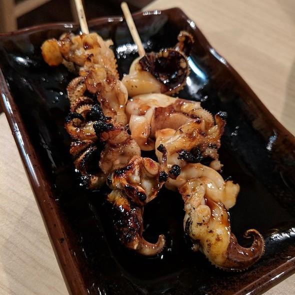 Grilled Squid Legs w/ Ponzu Sauce