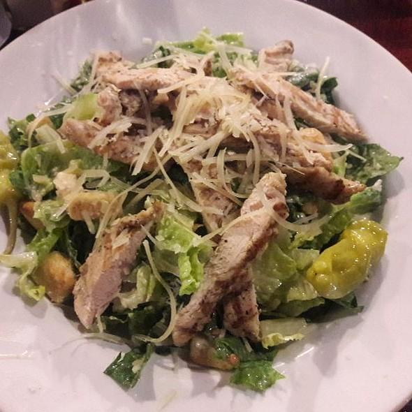 Chicken Caesar Salad @ Nikos Pizza