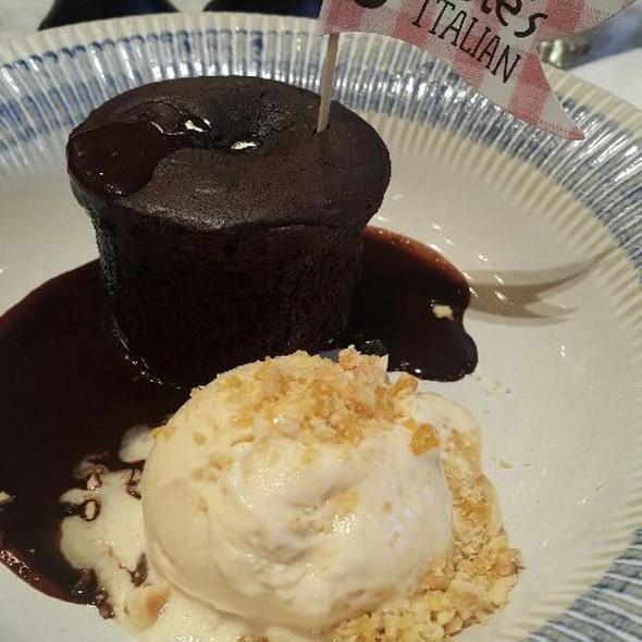 Warmer Schokoladenkuchen @ Jamie's Italian Vienna