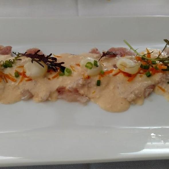 Classic Tiradito @ Tito's Ceviche & Pisco