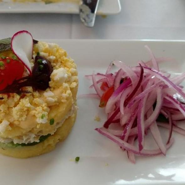 Causa de Cangrejo @ Tito's Ceviche & Pisco