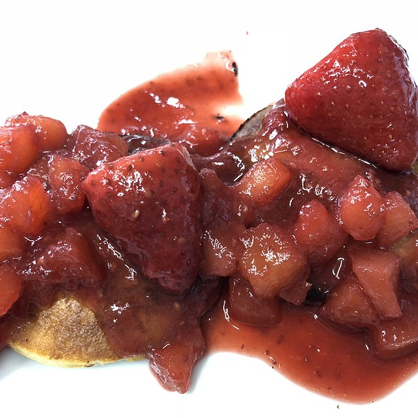 Piklets  and Berry Compote