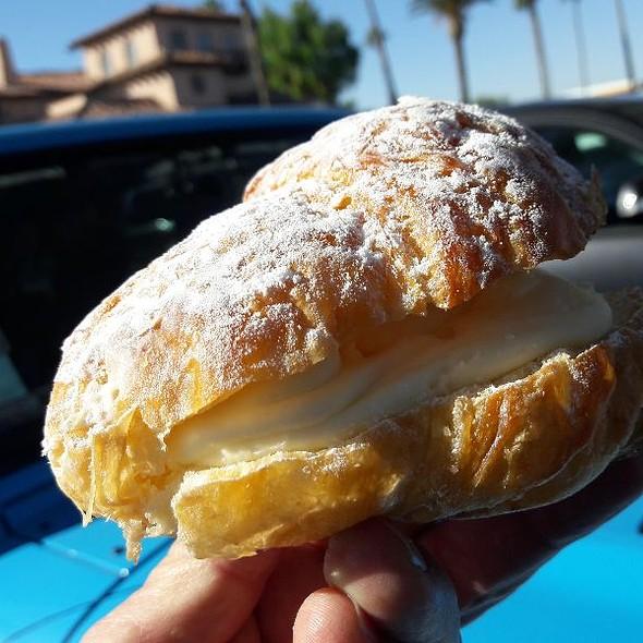 Vanilla Cream Stuffed Croissant  @ Harris Ranch Inn & Restaurant