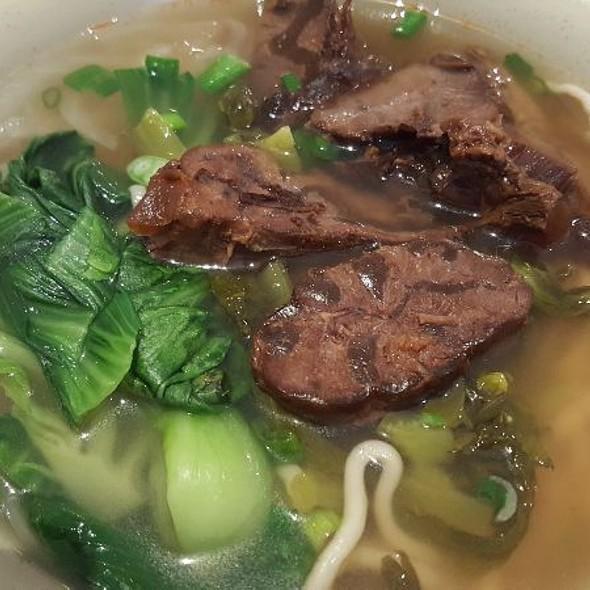 Steamed Beef Noodle Soup
