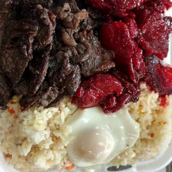 Tosilog & Beef Tapa
