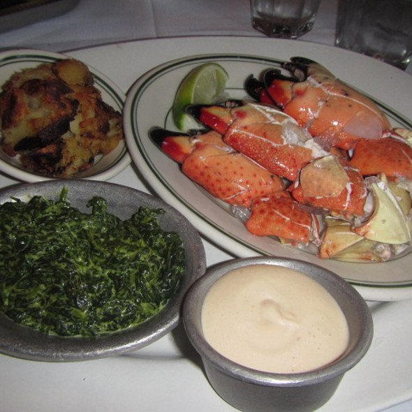 Stone Crab Special