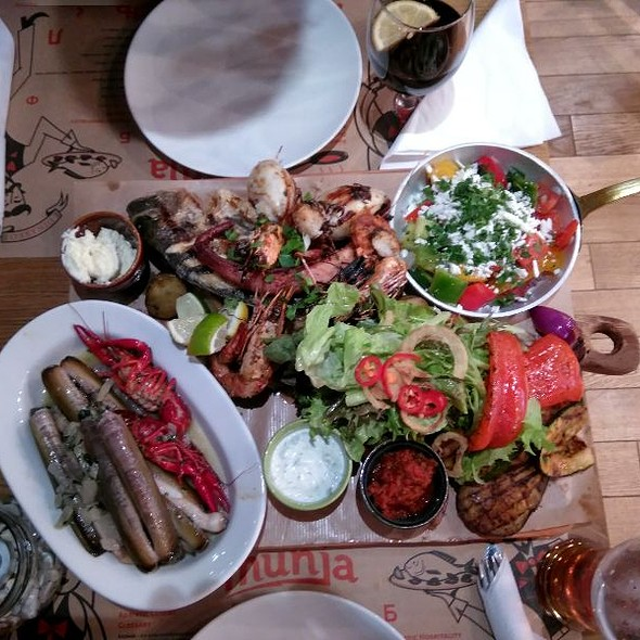 Grand Adriatric Grilled Seafood