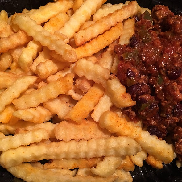 French Fries with Chili Sauce