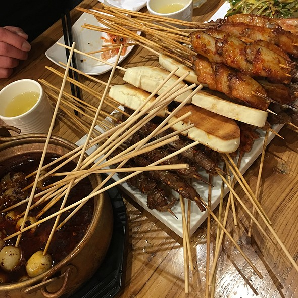Assorted Meat on Sticks