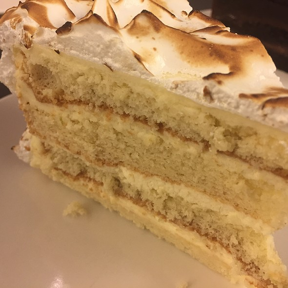 Lemon Meringue Cake @ BAKER & SPICE