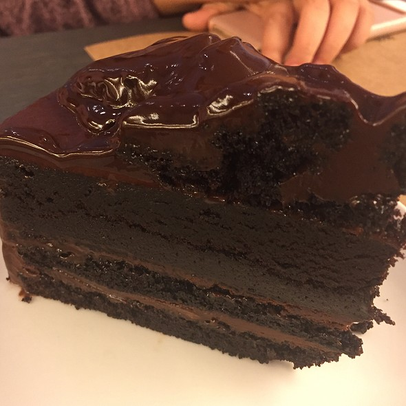 Chocolate Fudge Cake @ BAKER & SPICE