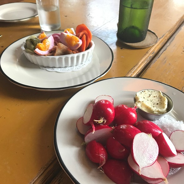 Radishes & Pickles
