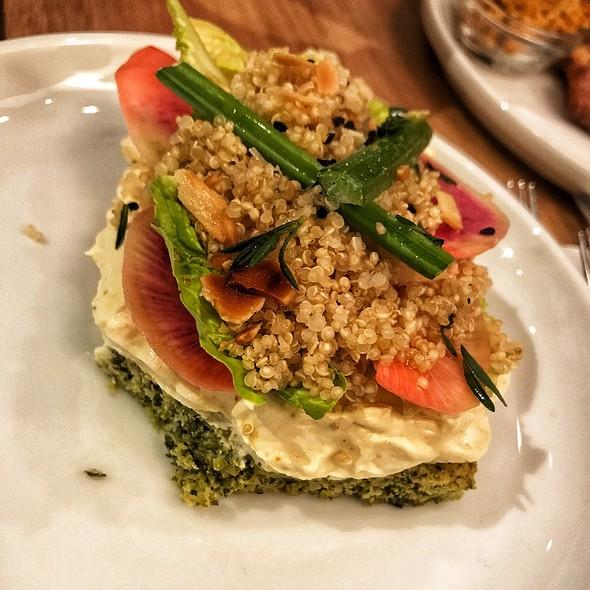 Broccoli Tartine
