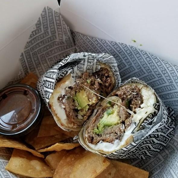Brisket Breakfast Burrito