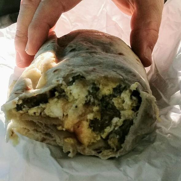 Steak And Eggs Breakfast Burrito