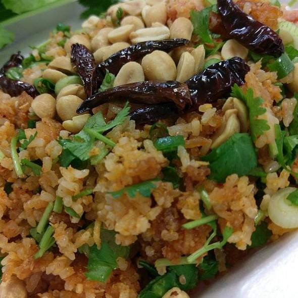 Nam Kaow (Fried Rice Ball Salad)