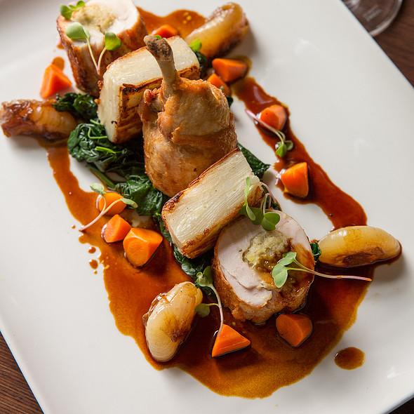 Organic Chicken Roulade @ Paramour at Wayne Hotel