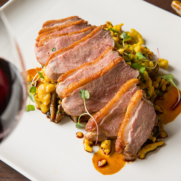 Crescent Duck Farm's Duck Breast @ Paramour at Wayne Hotel