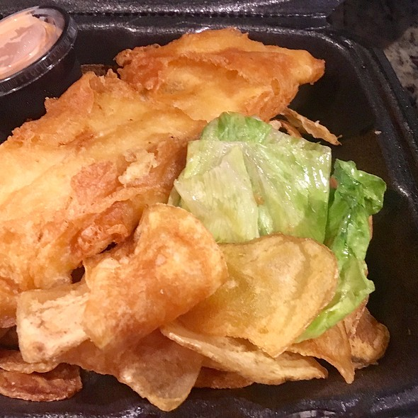 Fish and Chips @ Noosh Nosh