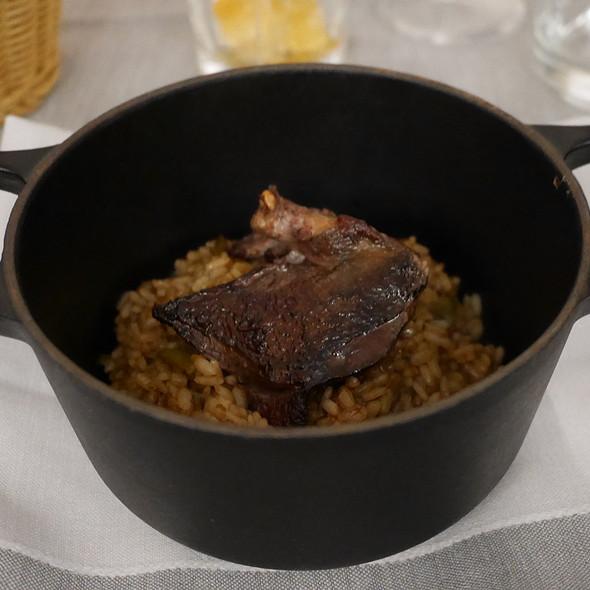 Rice with Pigeon @ Quadrat Restaurant & Garden