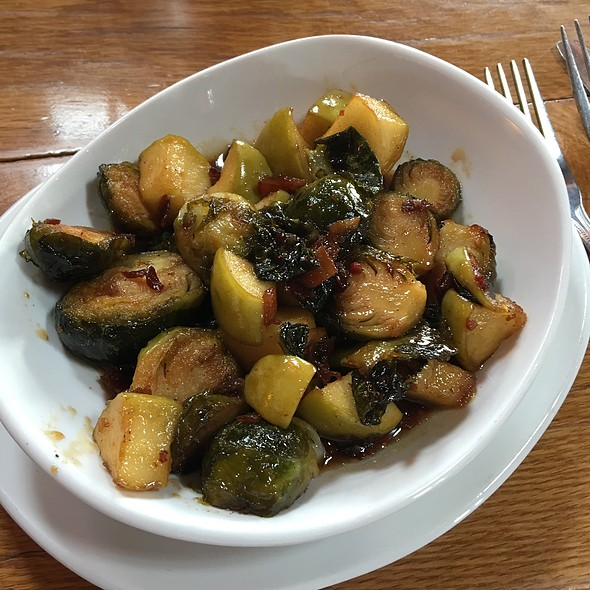 Candied Bacon Brussel Sprouts @ Water Street Brewery Grafton