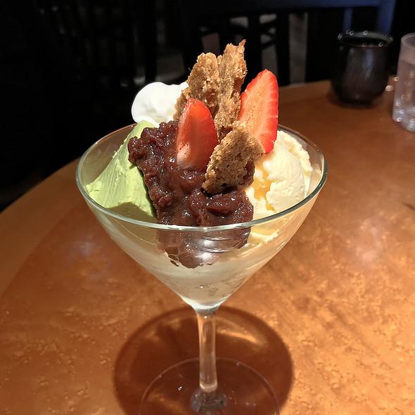 OBAMA MATCHA MOUSSE  @ Odoriko Restaurant
