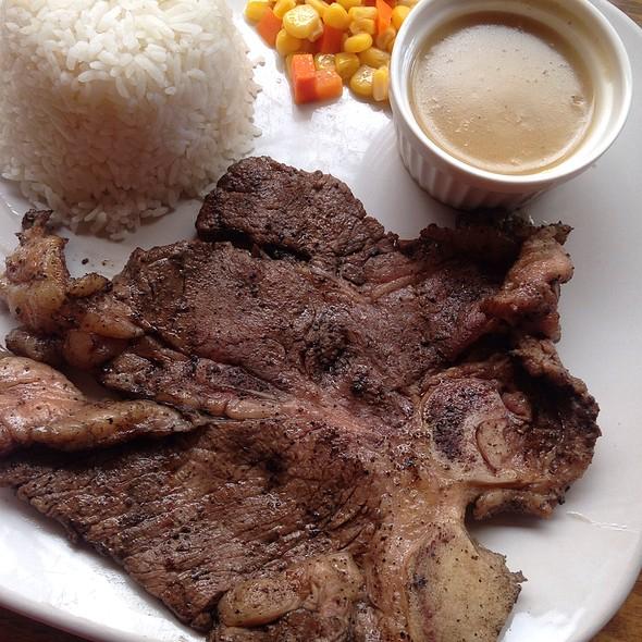 porterhouse steak @ Lorna B's Ribs, Steak and Sausages