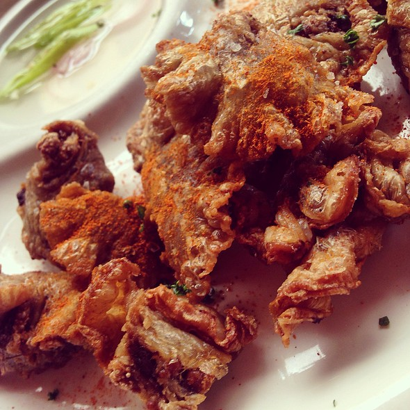 Chicharon Bulaklak @ Lorna B's Ribs, Steak and Sausages