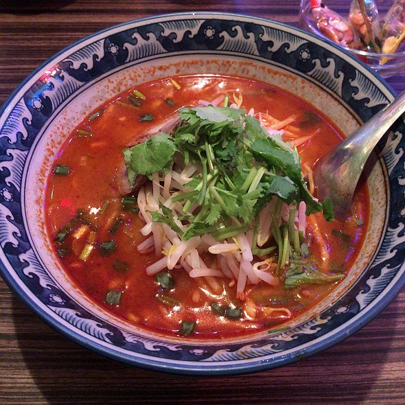Tom Yum Ramen @ Headrock Cafe