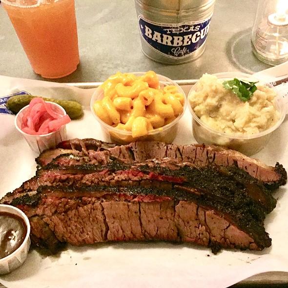 BBQ Brisket @ Texas Barbecue Café