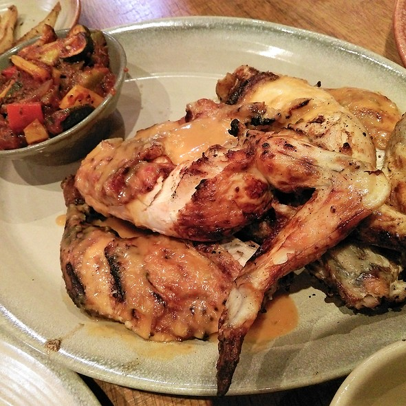 Whole Chicken with Veggies @ Nando's Flame-Grilled Chicken
