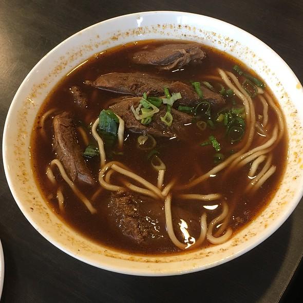 Tomato Beef Noodle Soup 番茄牛肉麵