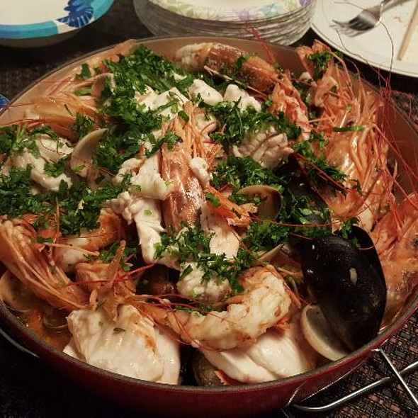 Seafood Coppino @ Home