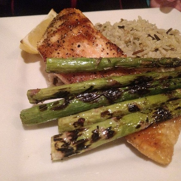 Grilled Salmon @ The Crazy Goat