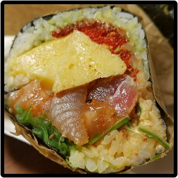 Triple Sashimi Burrito