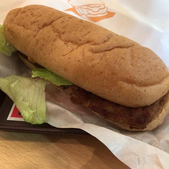 Pork Ribs Sandwich