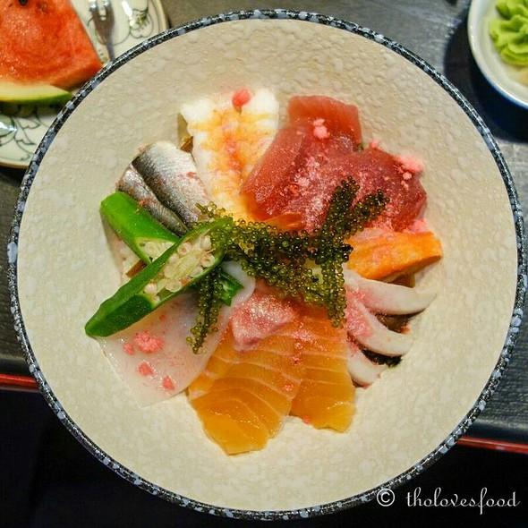 Chirashi Don @ Saiko Sushi & Japanese Restaurant