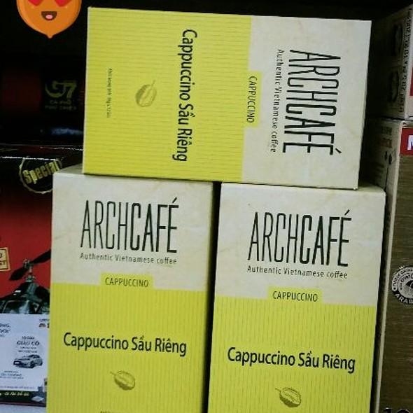 Durian Cappuccino  @ Auchan Supermarket Long Bien