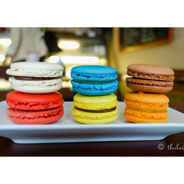 Macarons @ La Patisserie Chez Moi
