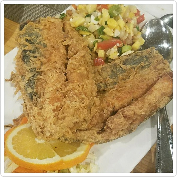 Bangus Belly with Ensalada
