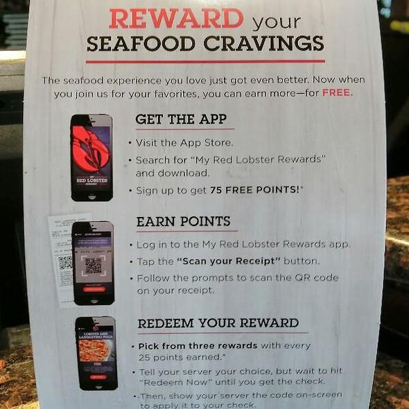 Red Lobster Reward App