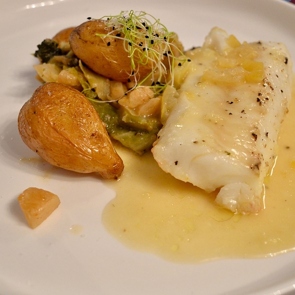 Cod With Pickled Lemon Sauce