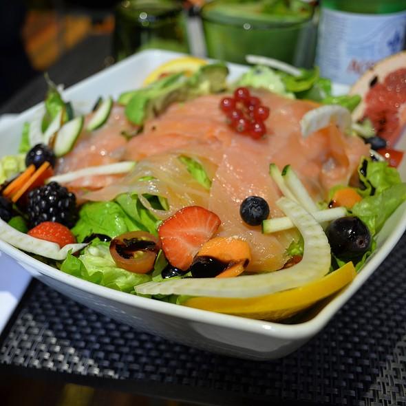 Salmon salad @ Lasagna Tiramisù