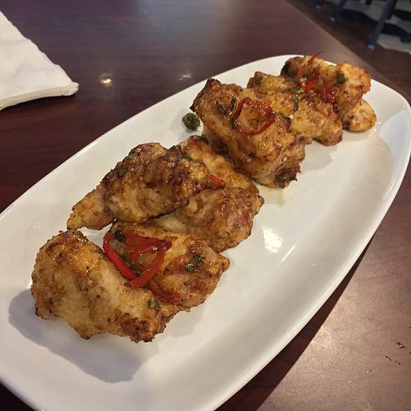 Secret Spicy Wings @ BBQ Chicken