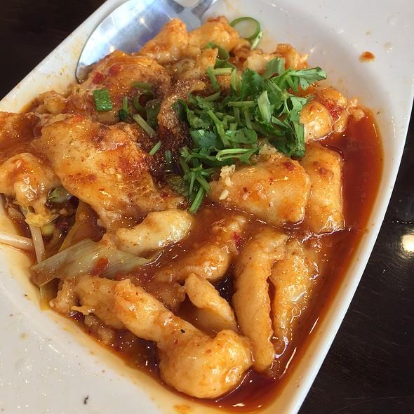 Schezwan Fish Filets @ Gourmet China House