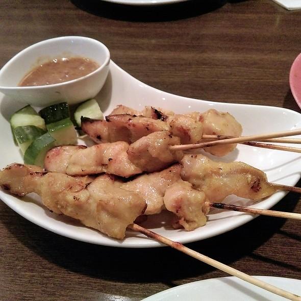 Chicken & Pork Satay @ Restoran Malaysia