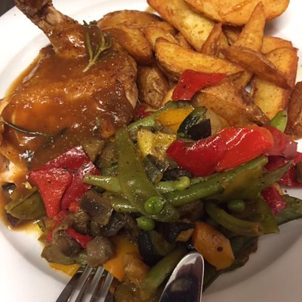Cornchicken & Grilled Vegie @ Home Sweet Home Sir Aqua