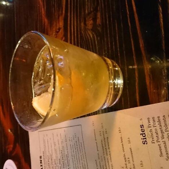 Jameson On The Rocks With A Lemon @ O.H.S.O. Distillery