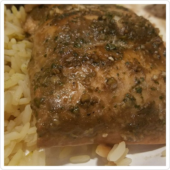 Balsamic And Honey Seared Salmon @ UC Davis