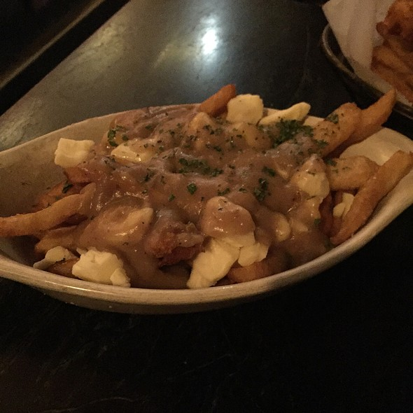 Poutine @ The Anchor Fish And Chips